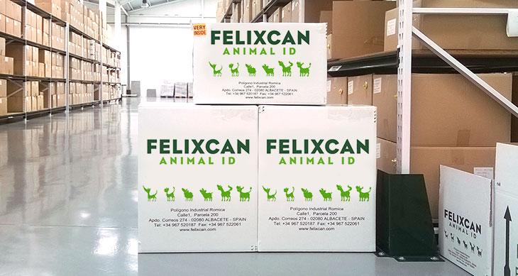 Cajas de embalaje productos Felixcan