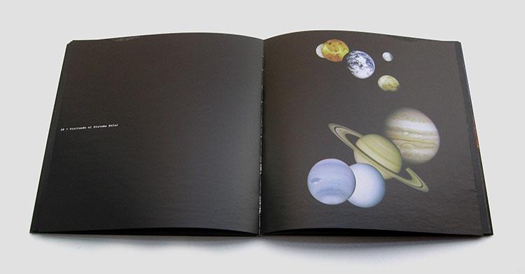 diseño del catálogo sorpresas del cosmos