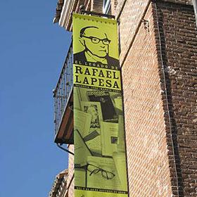 Imagen de la exposición el legado de Rafael Lapesa