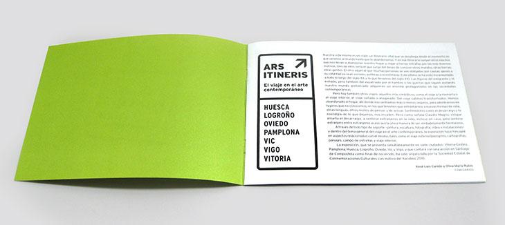 diseño de catálogo ars itineris
