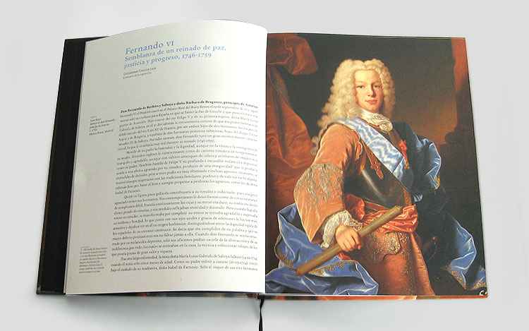 Catálogo Fernando VI en el castillo de Villaviciosa de Odón