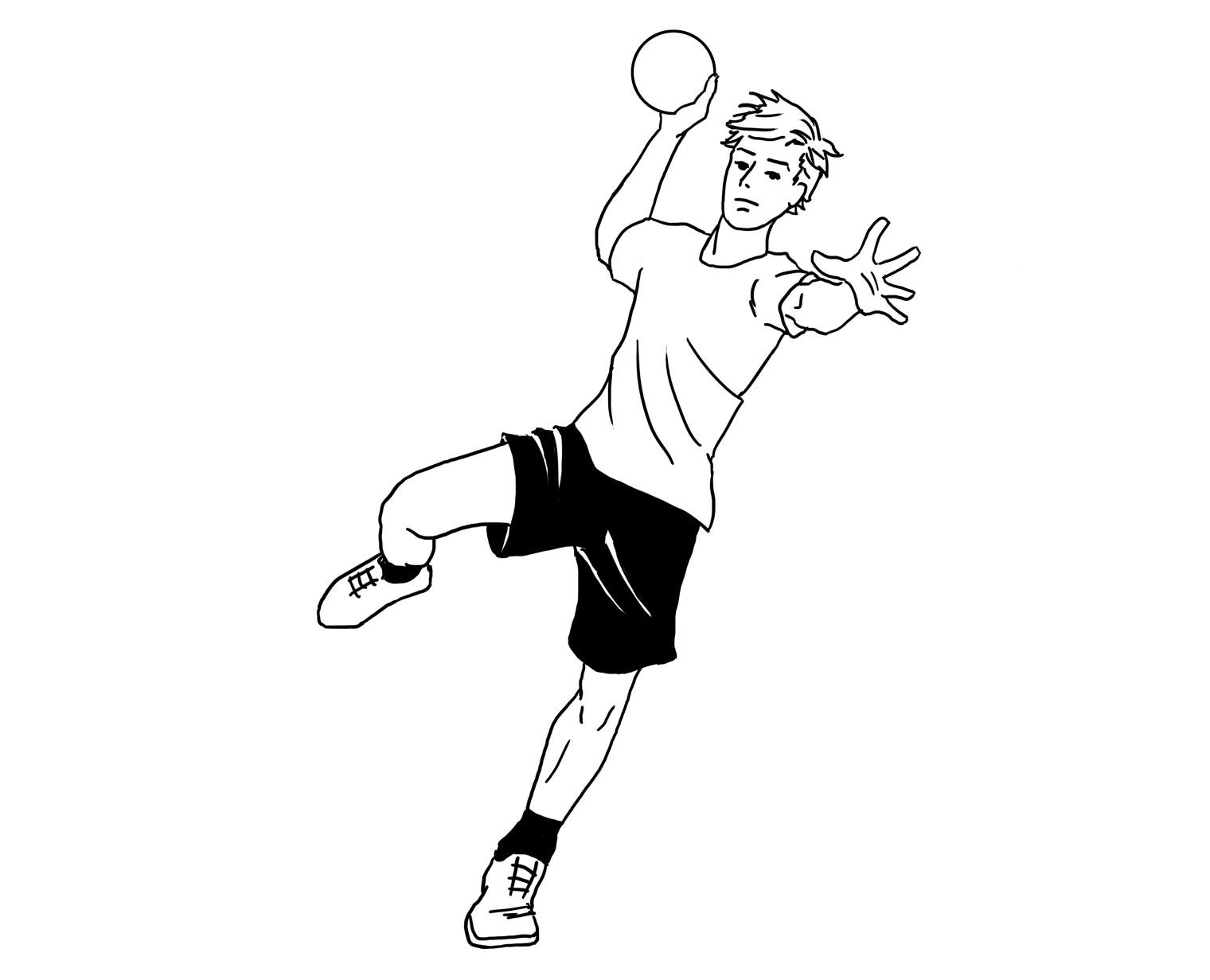 Ilustraciones balonmano