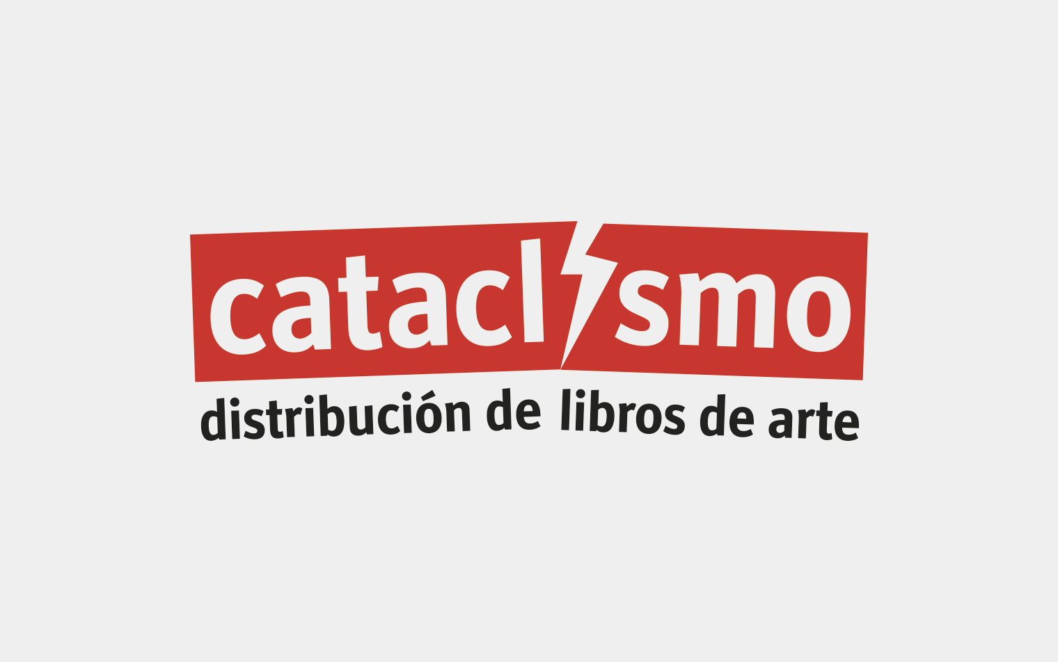 Cataclismo. Logotipo. Estudio blg
